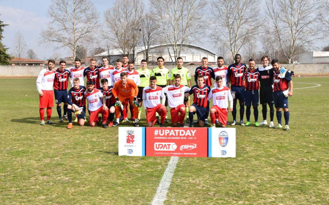 Il Chieri domina la Caronnese nel segno dell'UPAT, al De Paoli è 2-0