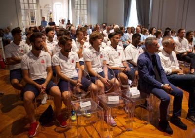 Le immagini della conferenza stampa di inizio stagione