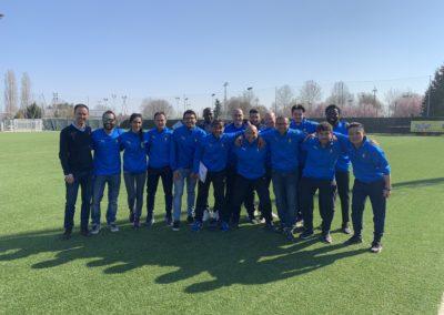 Corsisti Uefa B in visita al Rosato