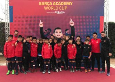 Riccardo Tommasi, da Chieri a Barcellona grazie al Barça Academy Camp