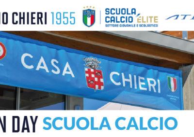 Open Day Scuola Calcio: 1 e 2 luglio al centro sportivo Rosato