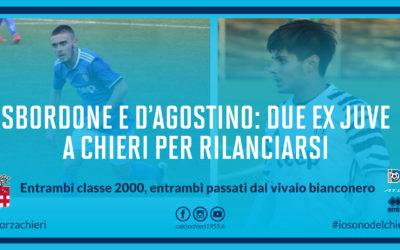 Sbordone e D'Agostino, due ex Juve a Chieri per rilanciarsi
