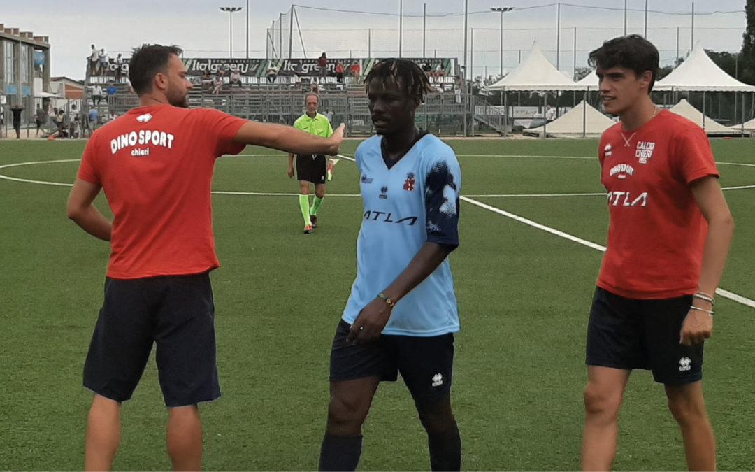 Cinquina contro La Biellese: segnano Yeboah (doppietta), Sbordone, Conrotto e Bragadin
