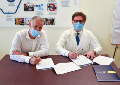 Partnership tra Calcio Chieri 1955 e Isokinetic Medical Group