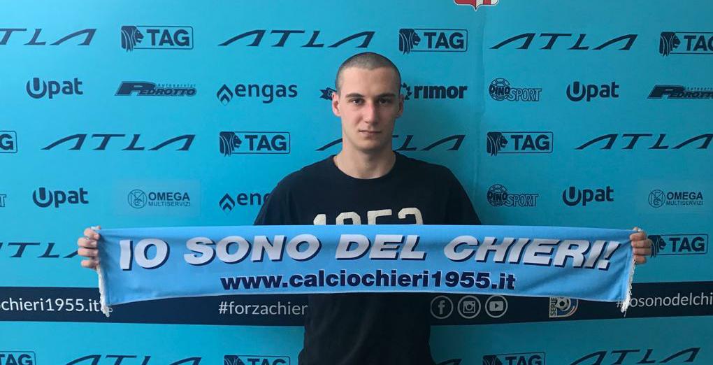 Luca Bonofiglio è il nostro nuovo portiere