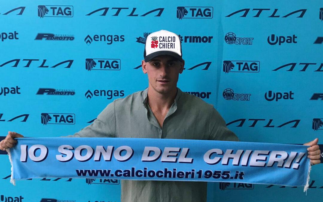 Colpo Chieri: Eros Castelletto è un nostro giocatore