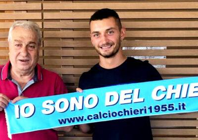 Il capocannoniere della D è un giocatore del Chieri: benvenuto Riccardo Ravasi!