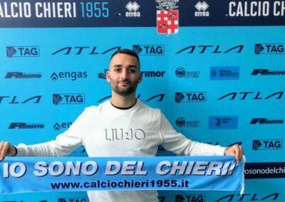 Il bomber dello scudetto Diego Valenti ritorna in azzurro